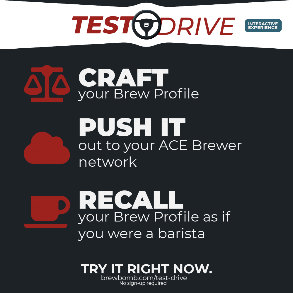 Test Drive by Brew Bomb